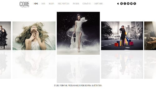 blog di fotografia - WordPress theme