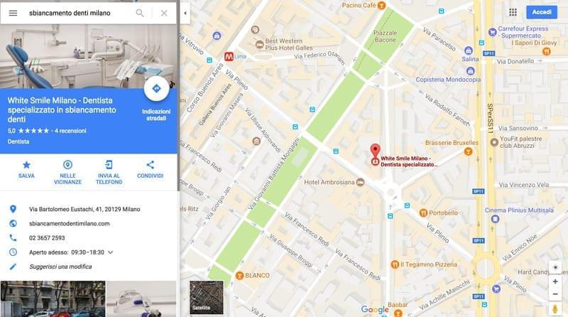 Creare sito e usare Google Maps - Esempio 2