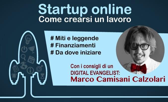 come crearsi un lavoro - creare una startup