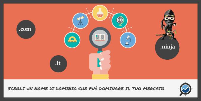 Registrazione Dominio Internet: i 5 elementi chiave che devi analizzare prima dell'acquisto