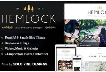 Fashion blog template - Hemlock